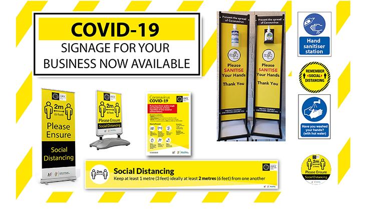 COVID-19- signage