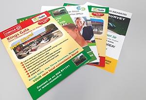 Leaflets Printing Flyers Color